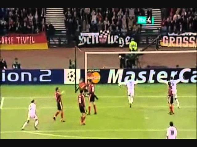 Zidane Goal vs Bayer Leverkusen Champions League