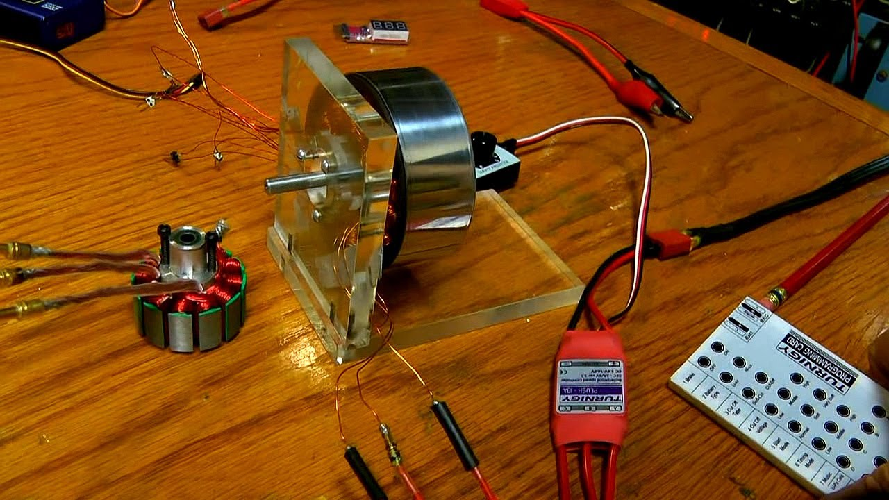 Simple 3 Phase Motor Control Youtube