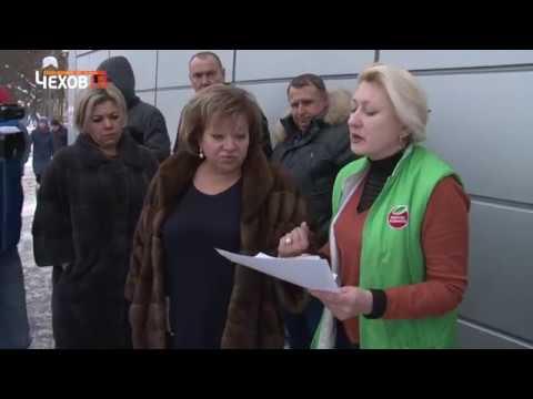 Глава Чехова Марина Кононова контролирует очистку улиц города от снега