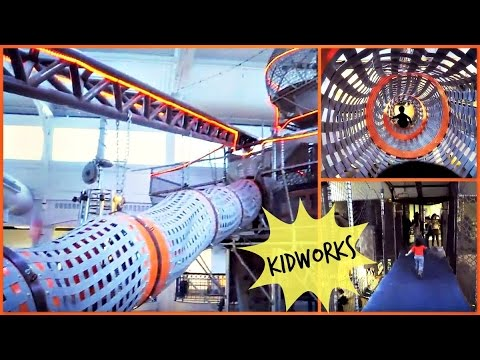 KidWorks Indoor Playground || PORT DISCOVERY CHILDREN'S MUSEUM at BALTIMORE, MD