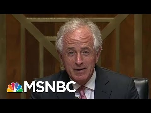 President Donald Trump Responds To Senator Bob Corker, GOP Remains Guarded | Morning Joe | MSNBC