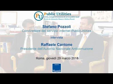 Intervista a Raffaele Cantone, Presidente ANAC