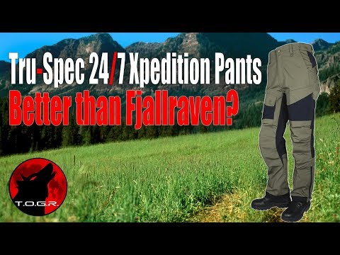 Better Than Fjallraven? - Tru-Spec 24/7 Xpedition Pants - Trail Review