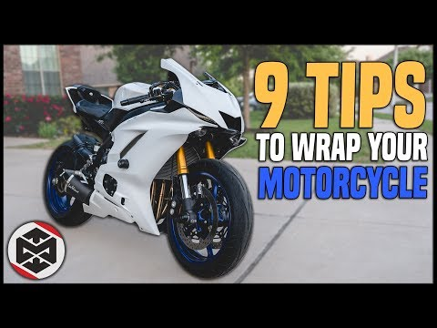 9 Tips For How To Wrap A Motorcycle
