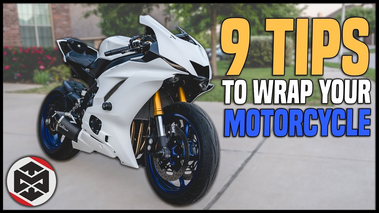 Vinyl Wrap Motorcycle >> 9 Tips For How To Wrap A Motorcycle Youtube