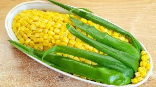 Салат Кукуруза - красивый праздничный салат
