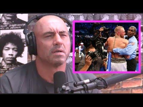 Joe Rogan Agrees with McGregor vs  Mayweather Stoppage
