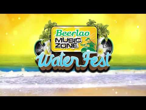Beerlao Music Zone Presents Water Fest Lao New Year 2018