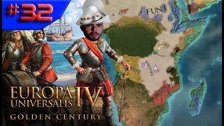 A COSTA AFRICANA É NOSSA!!! - Europa Universalis 4 Golden Century #32 (Gameplay/PTBR)