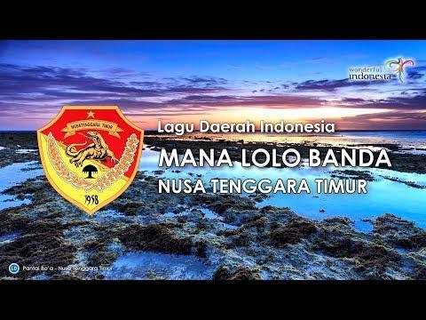 Mana Lolo Banda - Lagu Daerah NTT (Karaoke dengan Lirik)
