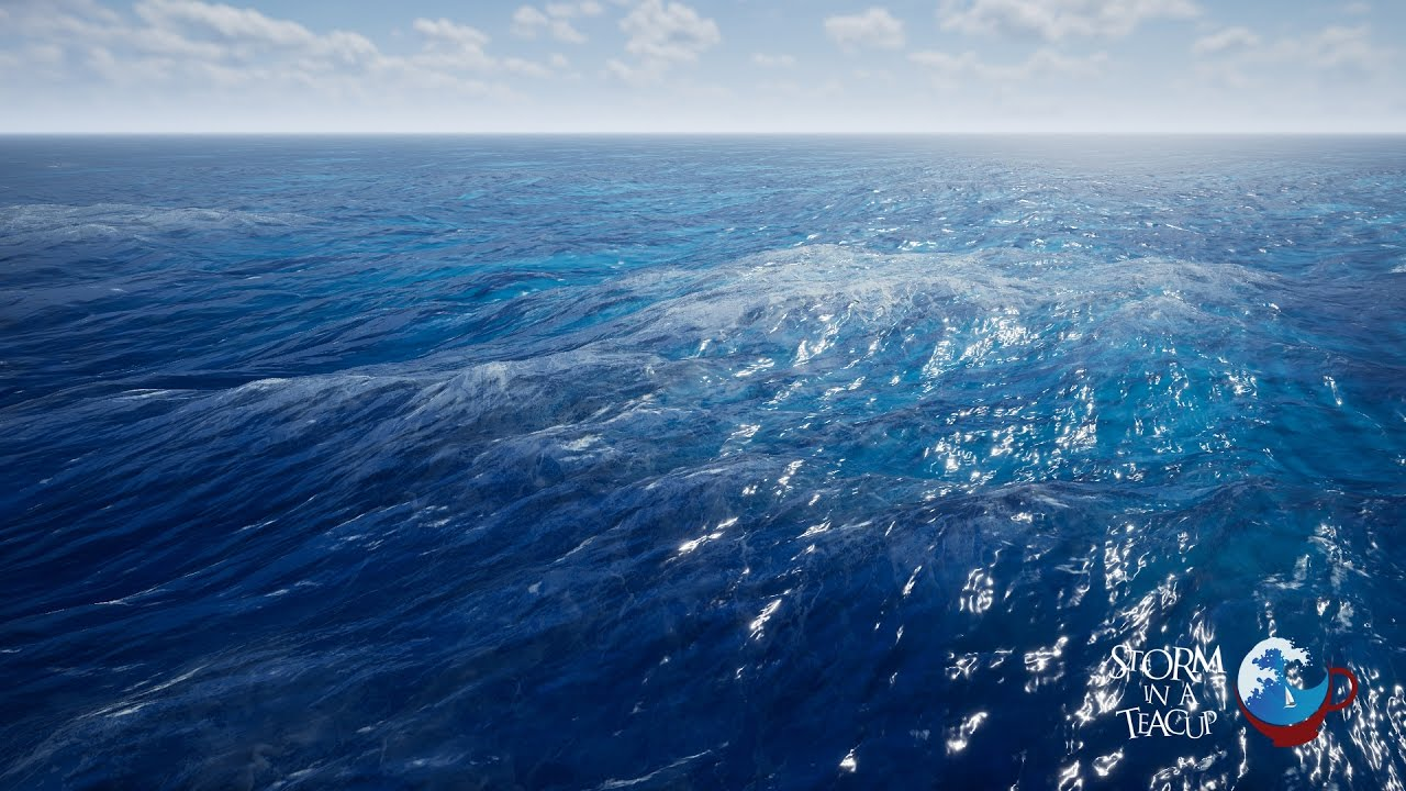 Realistic Ocean Plugin for UE4