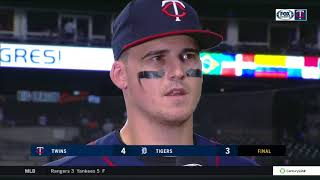 Tyler Austin on hitting a home run in Twins debut