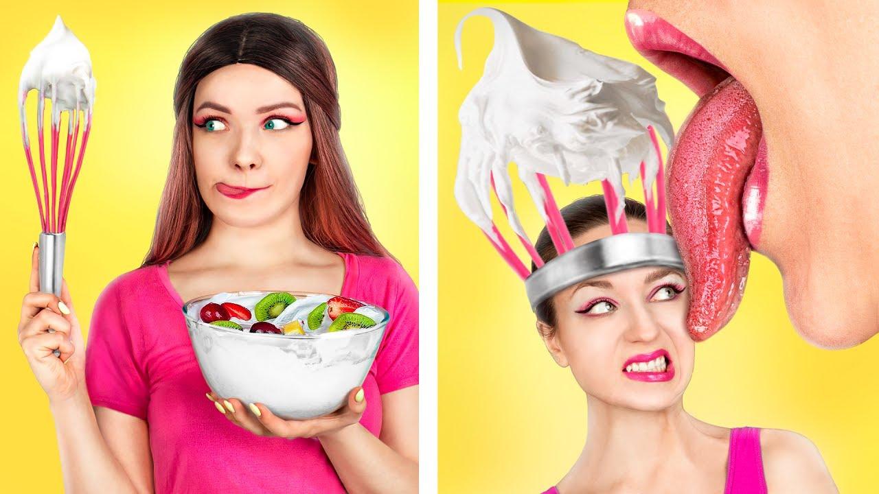 Se Os Objetos Fossem Pessoas / Situações Engraçadas Na Cozinha