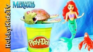 Surprise Play-Doh Toy Surprise! Turtle Trouble, Superman + Ursula HobbyKidsTV