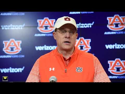 Auburn's Gus Malzahn gives practice update after second spring scrimmage