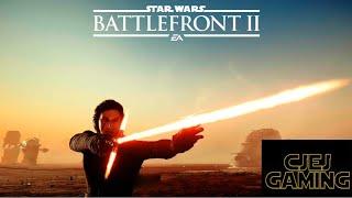 NEW Crait 1v1 Lightsaber Duels! Star Wars Battlefront 2