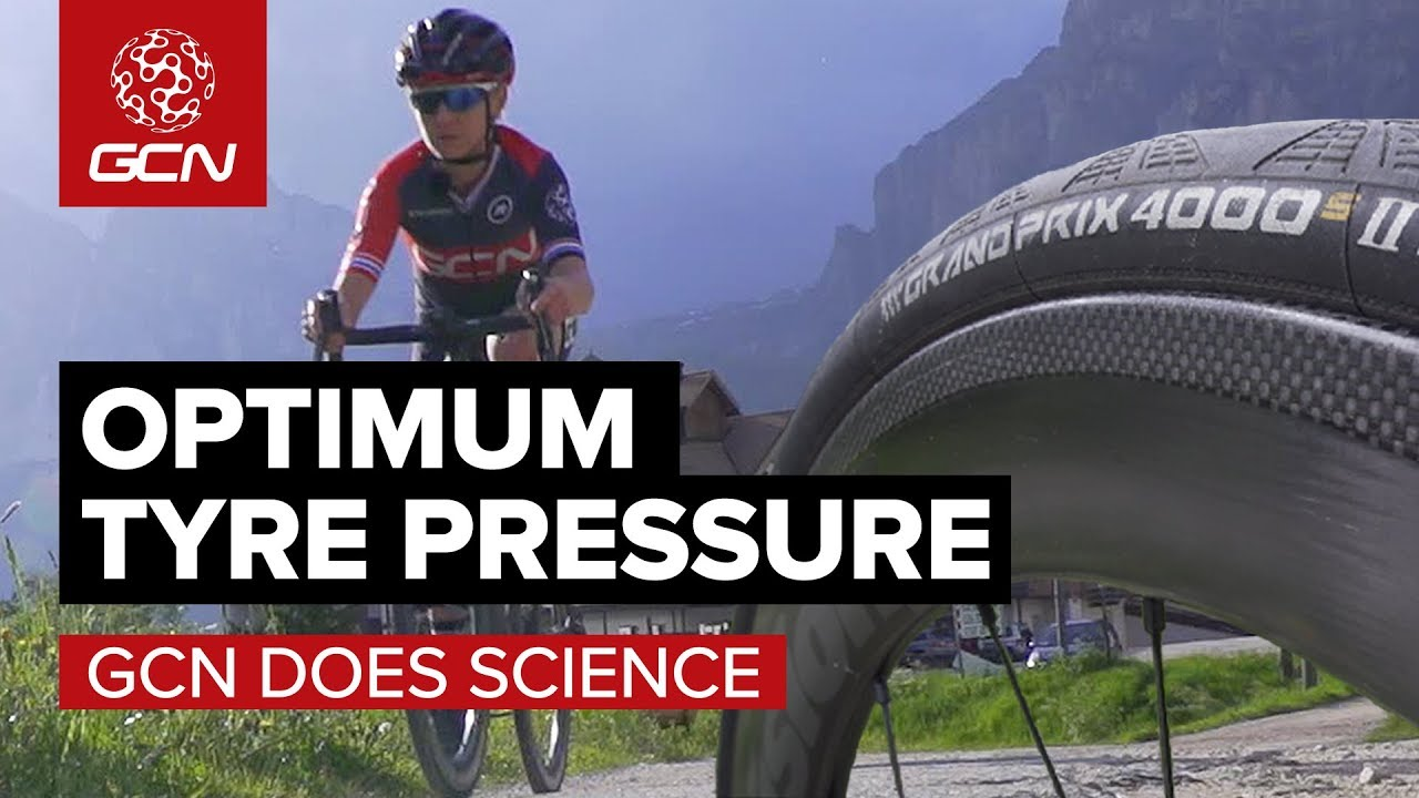 What's The Fastest Tyre Pressure For A Road Bike? | GCN Does Science