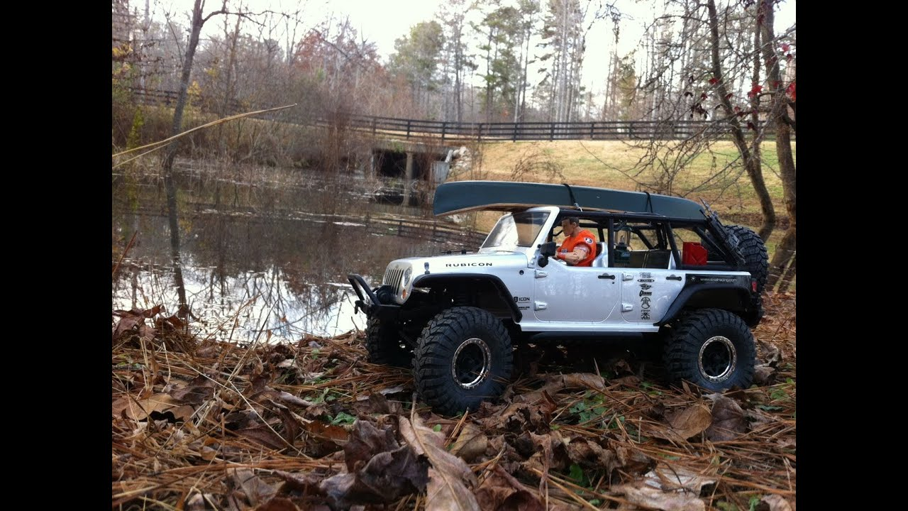 Axial Scx 10 2012 Jeep Unlimited Wrangler Rubicon First