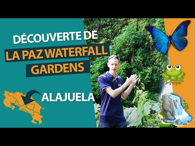 Découverte de La Paz Waterfall Gardens Nature Park au Costa Rica