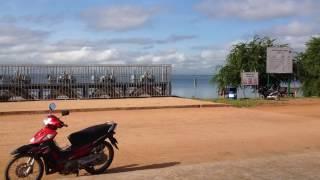Landscape of Komping Puoy Reservoir,ទេសភាពនិងជីវភាពរស់លើអាងកំពីងពួយ#3