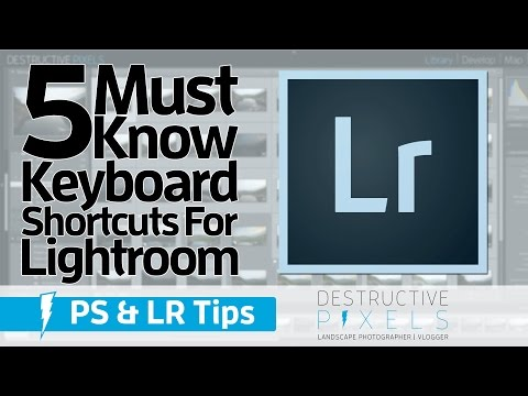5 Must Know Keyboard Shortcuts for Lightroom