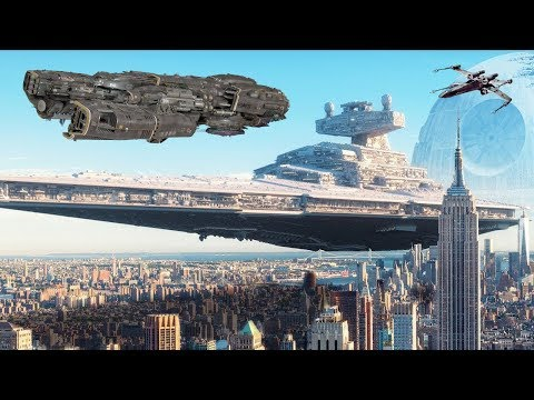 Spaceships Size Comparison - Starships and Spacecraft