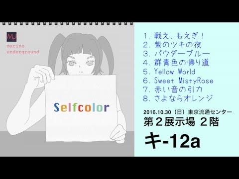 【M3−2016秋 キ-12a】オリジナルフルアルバム『Selfcolor』XF  -marine underground-