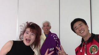 スコップ三味線世界大会2014 インタビュー.Shovel shamisen World 2014 backstage interview.