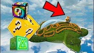 LA TORTUGA MÁS GRANDE DE MINECRAFT!! Lucky Blocks con sTaXx!
