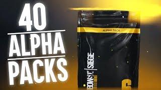 Episches 40 Alpha Packs Opening! | RAINBOW SIX: SIEGE