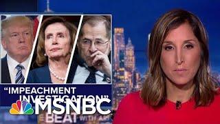 Escalation: Dems Launch 'Impeachment Investigation' On Trump | The Beat With Ari Melber | MSNBC