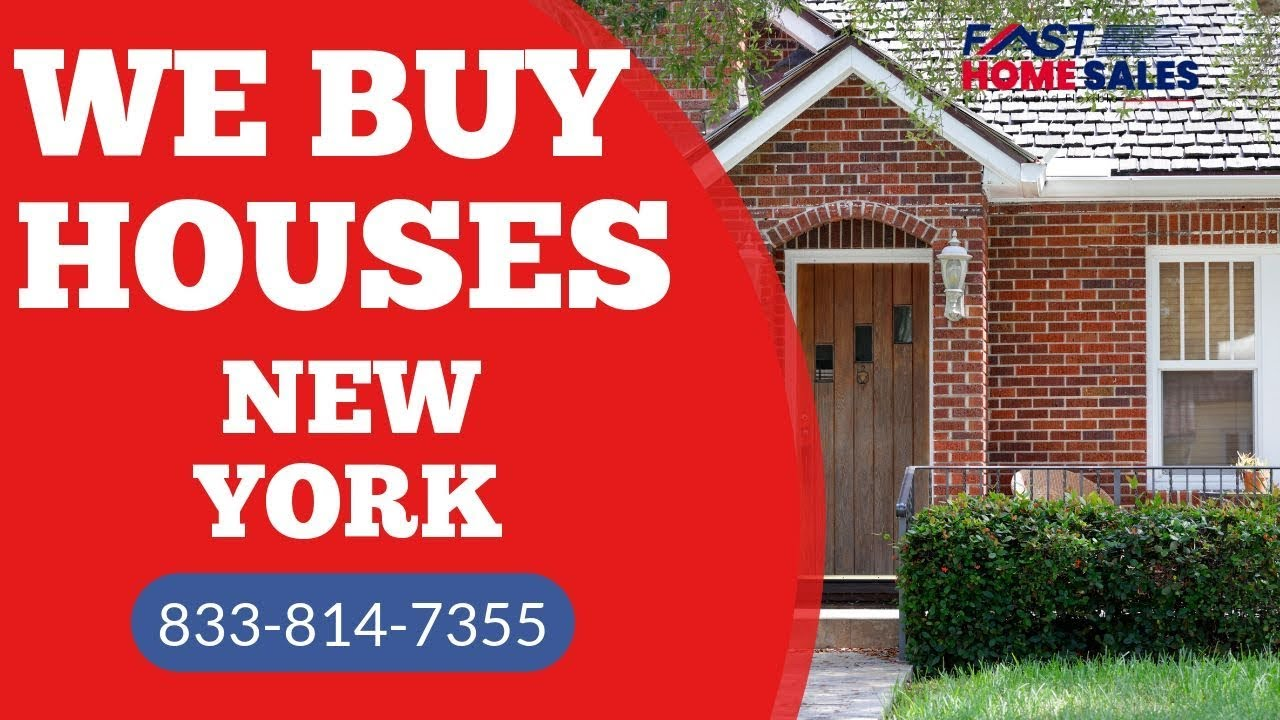 We Buy Houses New York - CALL 833-814-7355 - FAST Home Sales