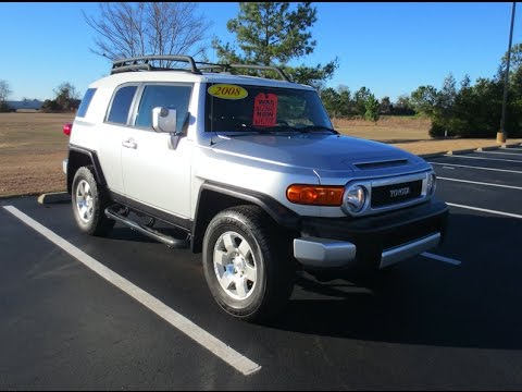 2008 toyota fj cruiser 4x4 full tour start up at massey. Black Bedroom Furniture Sets. Home Design Ideas