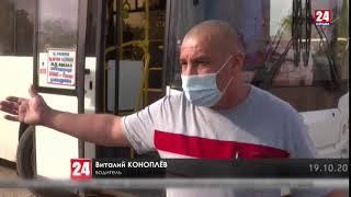 Автобусы с материка не выдерживают крымских нагрузок