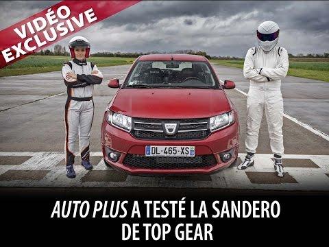 Top Gear : Un tour avec le stig en Dacia Sandero