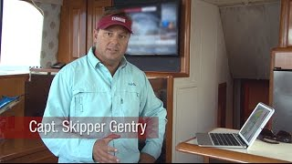 using tracvision and tracphone onboard skipper gentry s carolina gentleman