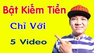 Bật Kiếm Tiền Youtube 2020, Sau 2 Ngày...💰