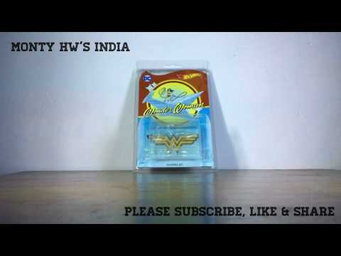 Hot wheels Wonder Woman invisible jet 2017- Monty India-Vol.64