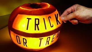 Halloween Pumpkin Message Board