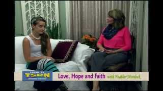 Holly Starr on Love, Hope, and Faith with Heather Murdock 6-12-13
