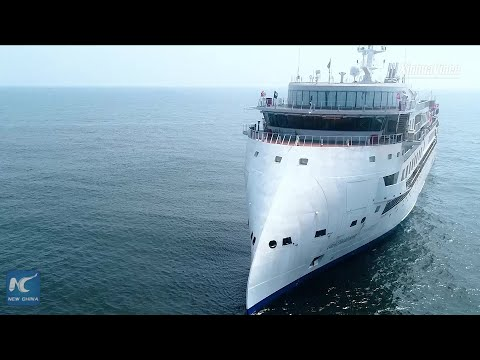 First China-made polar expedition cruise ship delivered to U.S. customer