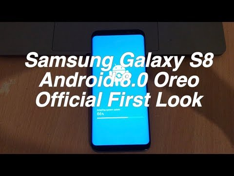 Samsung Galaxy S8 Android Oreo 8.0.0 Beta With Experience Ui 9.0 First Look