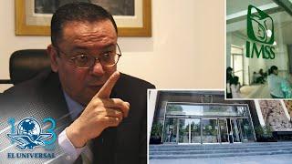 Germán Martínez renuncia a dirección general del IMSS