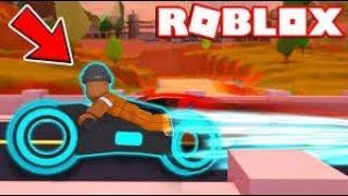 Roblox Jailbreak Tron Motora Doğru/Hacksiz/Kıvırcık Gamer