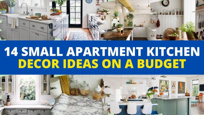 14 Small Apartment Kitchen Decorating Ideas On A Budget Friendly Youtube