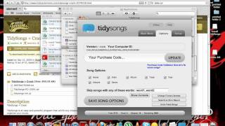 how to get tidysongs for  FREE mac and windows