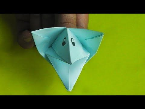 оригами собака кусака, как сделать оригами собака кусака // Origami Dog