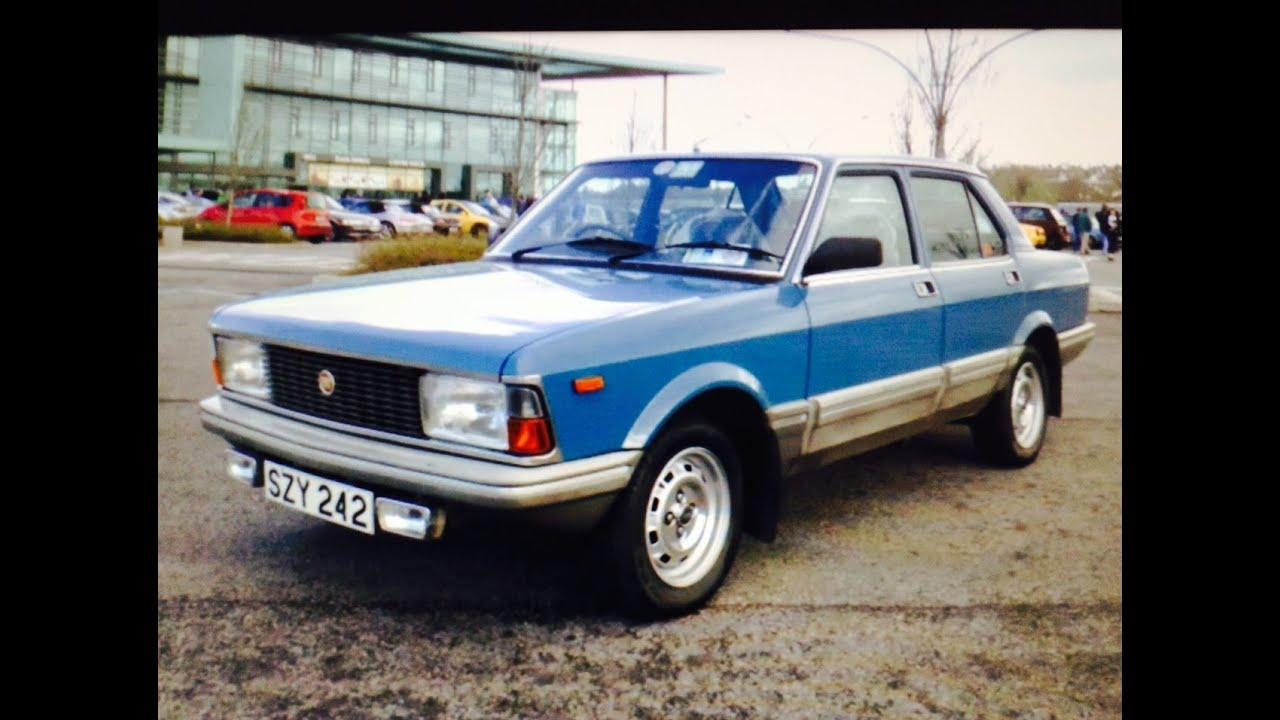 Fiat Argenta 2000 1982 Youtube