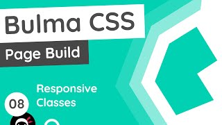Bulma Tutorial (Product Page Build) #8 - Responsive Classes