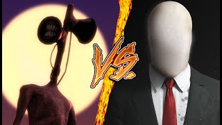 SIREN HEAD VS SLENDERMAN l UltraCombates De Rap Legendario l AdriRoSan